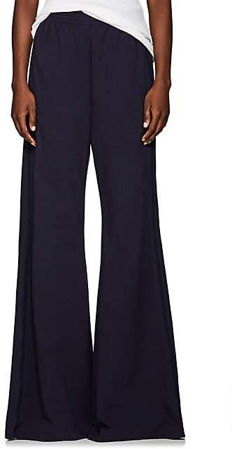 MM6 MAISON MARGIELA Women's Cotton-Blend Wide-Leg Pants - Navy