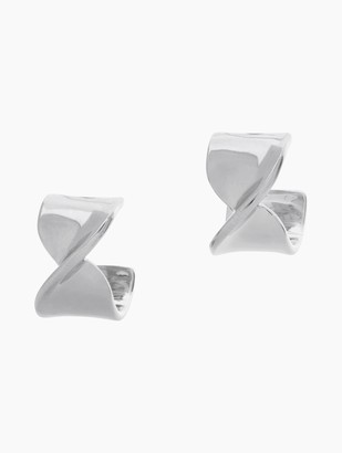St. John Metal Twist Earring