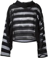 Ivan Grundahl oversized sheer striped blouse