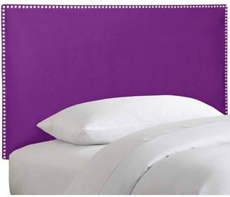 Skyline Furniture Twin Nail Button Border Headboard