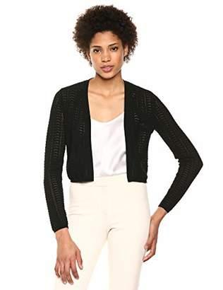 Theory Women's Long Sleeve Crochet Cardi
