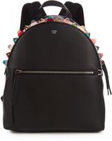 Fendi Embellished leather backpack