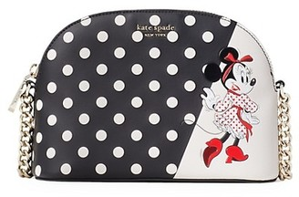 Kate Spade x Minnie Mouse Small Dome Crossbody Bag