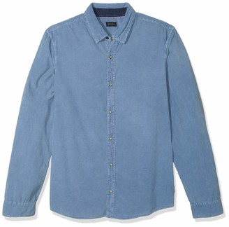 Buffalo David Bitton Men's Long Sleeve Denim courduroy Shirt