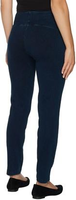 Women With Control Petite Tummy Control Prime Stretch Denim Jeans