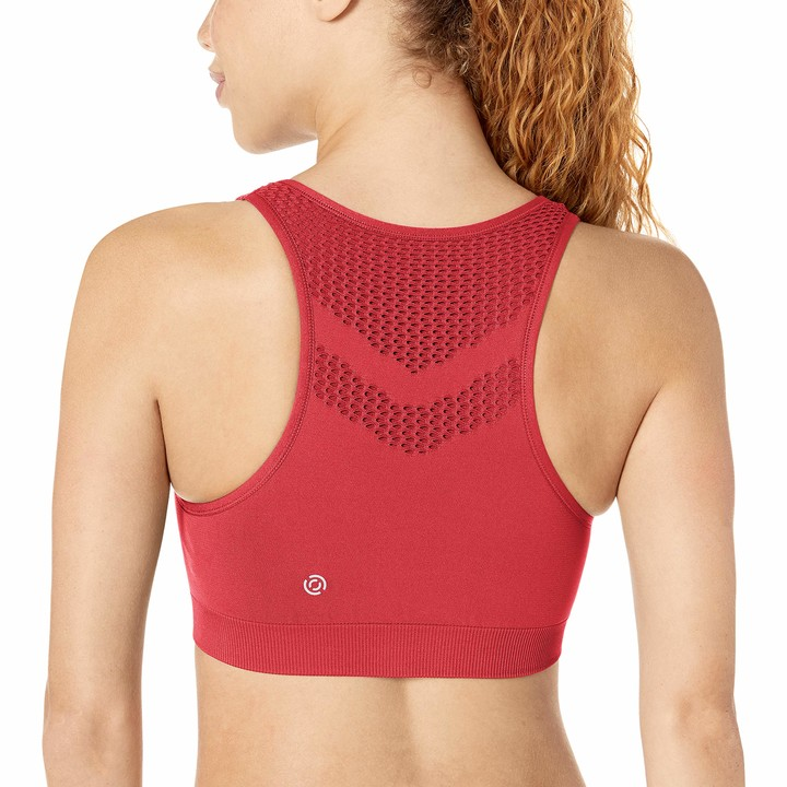 Core 10 Womens Onstride Back Cut-Out Workout Sports Bra Brand