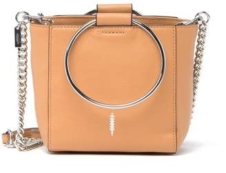 THACKER Le Bucket Mini Leather Ring Handle Bag