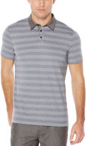 Perry Ellis Short Sleeve Jersey Striped Polo