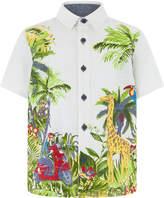 Monsoon Jason Jungle Scene Shirt