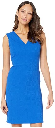 Lauren Ralph Lauren Aymeline Sleeveless Day Dress (Regal Sapphire) Women's Dress