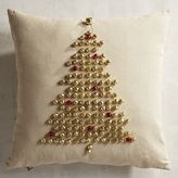 Pier 1 Imports Jingle Bell Christmas Tree Pillow