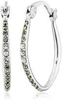 """Judith Jack Natural Wonders"""" Sterling Silver Swarovski Ombre Hoop Earrings"""