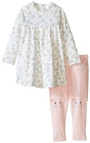 Little Marc Jacobs All Over Printed Dress with Cute Leggings Set Girl's Active Sets