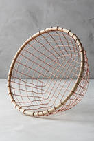 Anthropologie Brushed Wire Fruit Bowl