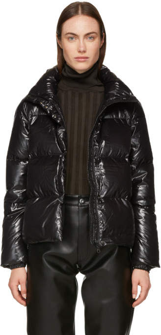 Duvetica Black Alane Down Jacket