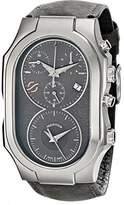 Philip Stein Teslar Men's 300-SDG-CASTGR Swiss Signature Analog Display Swiss Quartz Grey Watch