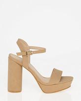 Le Château Open Toe Platform Sandal