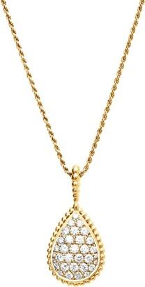 Boucheron Yellow Gold Serpent Boheme Long Necklace