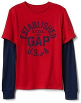 Gap 2-In-1 Graphic Crew Tee