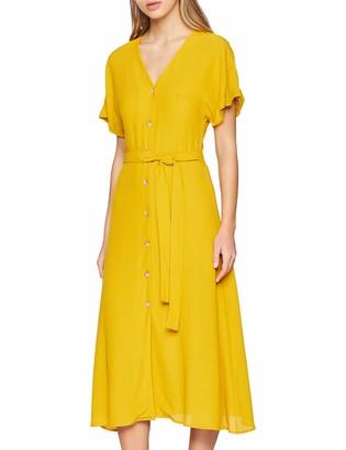 New Look Women's Button Through Midi6196028 Dress