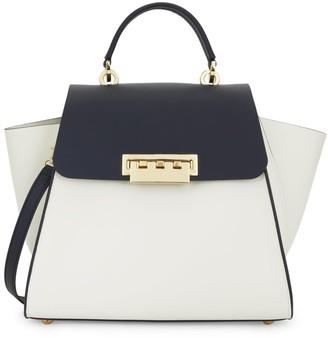 Zac Posen Eartha Colorblock Leather Top Handle Bag