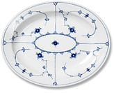 Royal Copenhagen Blue Fluted Plain Oval Platter, 14.25