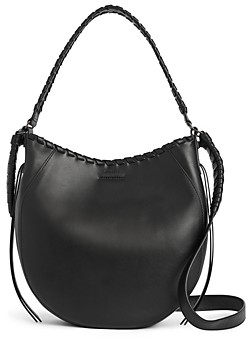 AllSaints Courtney Leather Hobo