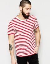 Farah T-shirt With Breton Stripe Slim Fit