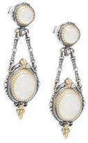 Konstantino Labradorite, 18K Yellow Gold & Sterling Silver Dangle Earrings