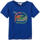 Appaman Bumper Car Tee (Toddler/Kid) - Bottle Blue-5