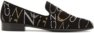 Giuseppe Zanotti Slip-On Crystal-Embellished Loafers