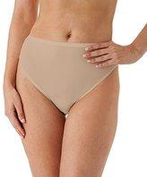 Shadowline Women's Plus Size Spandex Hi-leg Brief 3-Pack
