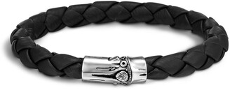 John Hardy Men's Bamboo Braided Leather Bracelet