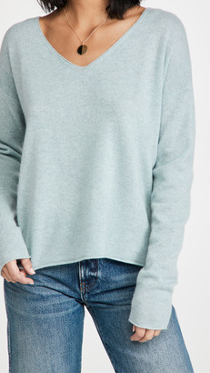 Le Kasha Tibet V Neck Cashmere Sweater