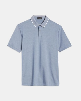 Theory Standard Polo Shirt in Pique Cotton