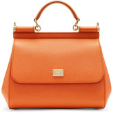 Dolce & Gabbana Orange Medium Miss Sicily Bag
