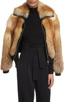 A.L.C. Boyce Fox Fur Bomber Jacket