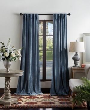 "Martha Stewart Collection Martha Stewart Naples Chenille 50"" x 84"" Back Tab Curtain Panels"