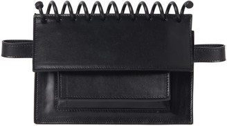 Atribut Leather Belt Bag - Brave - Black