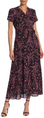 Nanette Nanette Lepore Tie Waist Maxi Dress