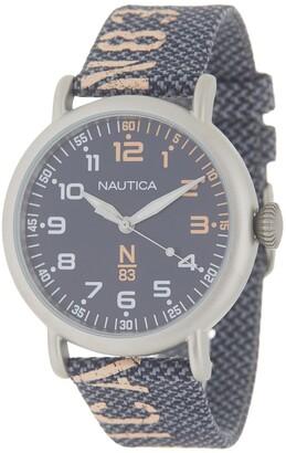 Nautica Men's N83 Loves The Ocean Watch, 44mm