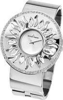 Jacques Lemans Flora 1-1700D 50mm Steel Bracelet & Case Mineral Women's Watch