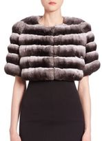 The Fur Salon Chinchilla Fur Bolero