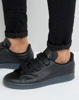 Adidas Originalsstan Smith Trainers In Black