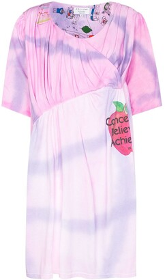 Collina Strada Cupcake tie-dye dress