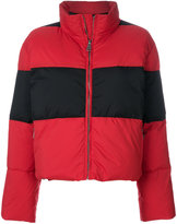 Sonia By Sonia Rykiel block stripe puffer jacket