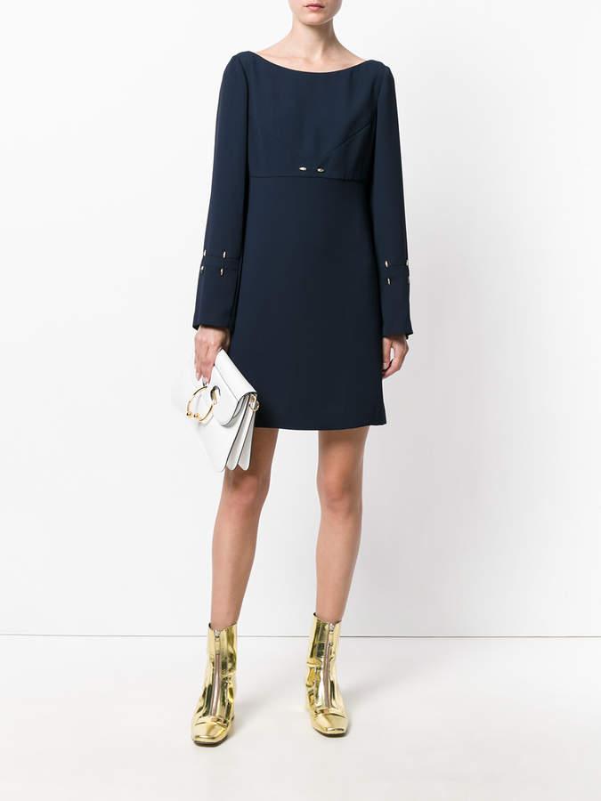 Versace studded detail dress