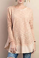 Easel Textured Knit Sweater