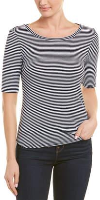 Three Dots Montauk Tie Back T-Shirt