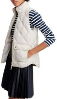 J.Crew Women's Excursion Quilted Flannel Vest